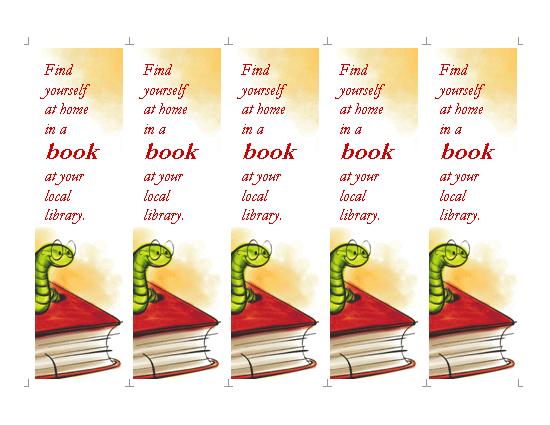 microsoft office bookmark templates