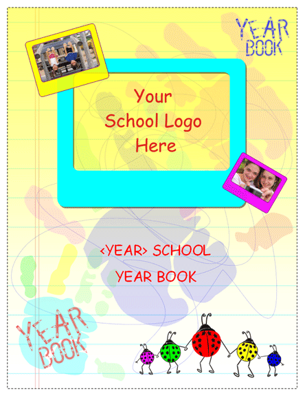 Agendas Templates Student Yearbook For Elementary School Academic ...