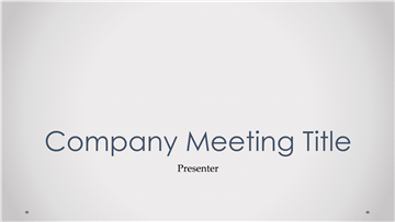Company Sales Meeting Agenda Items