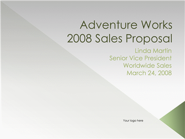 Proposal Presentation Sales Meeting Agenda Template