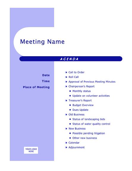 Blue Agenda (capsules Design)