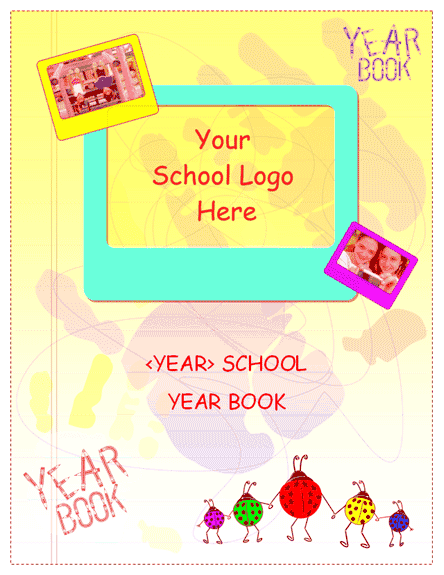download ms office student yearbook for elementary school, Powerpoint templates